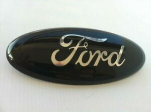 Ford 7 Front Grille Tailgate Emblem 3d 3m Double Side Adhesive Black