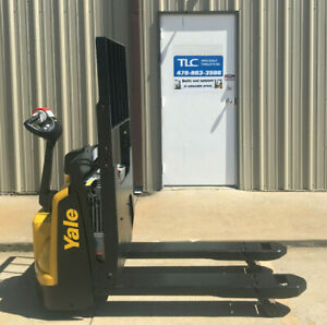 2016 Yale Electric Pallet Jack Model Mpb045 Walkie Only 2214 Hours Forklift