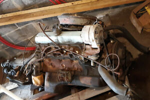 1970 Oldsmobile 350 Rocket Engine W 6 Heads Th 350 Transmissio