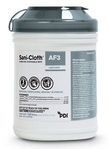 Pdi Sani cloth Af3 Germicidal Disposable Large Disinfecting Surface Wipes Sealed