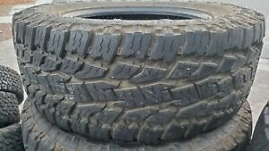 Four Used 35x12 5x20 121r Toyo 352730 Open Country A t Ii Radial Tires