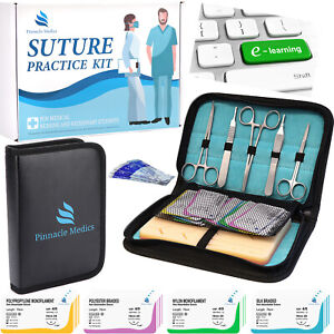 Complete Suture Practice Kit For Medical Student suture Kit For Suture Training
