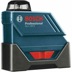 Bosch Gll 150 Eck rt 360 degree Self leveling Line Laser Kit Reconditioned