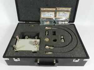 Hp 41951a Impedance Test Kit W Test Adapter Various Accessories great Shape