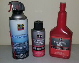 Moc Optimizer Cleaner Throttle Body Cleaner And Fuel System Flush New