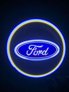 Ford Logo Wireless Led Courtesy Car Door Ghost Shadow Projector Light Us Seller