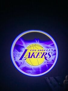 Laker Logo Wireless Led Courtesy Car Door Ghost Shadow Projector Light Us Seller