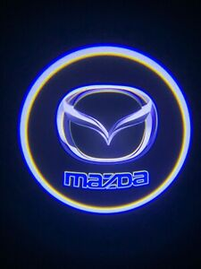 Mazda Logo Wireless Led Courtesy Car Door Ghost Shadow Projector Light Us Seller
