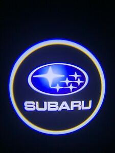 Subaru Logo Wireless Led Courtesy Car Door Ghost Shadow Projector Light