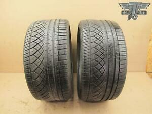 Two 2 Continental Extreme Contact 285 30 Zr19 Set Of 2 Tires High Tread
