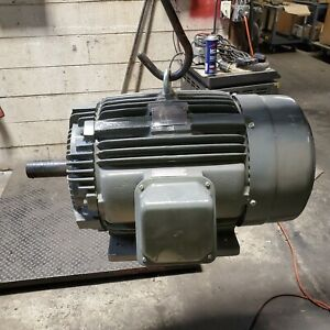 New Teco Westinghouse 30 Hp Electric Motor 230 460 Vac 1770 Rpm 286t Frame