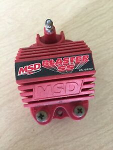 Msd Blaster Ss Ignition Coil Assembly Street Blaster Msd 8207 Used