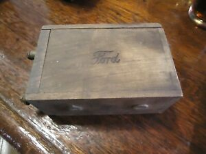 Antique Ford Ignition Coil Buzz Box Ford Script Untested Model T 1919 1923 2