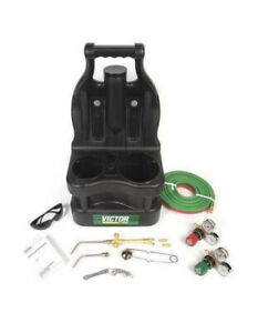 Victor Portable 0384 0945 Tote Torch Kit For Brazing Soldering Without Bottles