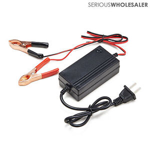 12v Battery Trickle Charger Motocycle Car Atv Boat Maintainer Multimode