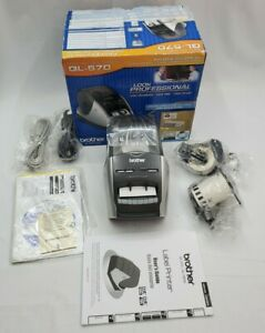 Brother Ql 570 Professional High Res Thermal Label Printer Brand New Open Box