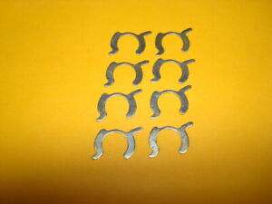 Set Of 8 Injector Retainer Clips Firebird Trans Am Iroc Corvette With Tpi