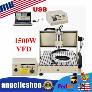1 5kw 3axis 6040z Router Cnc Engraver Engraving Milling Drilling Machine Usb Us