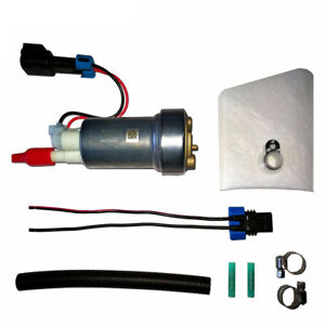Fits Walbro E85 Racing Fuel Pump F90000274 450lph High Pressure With Install Kit