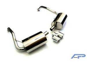 Agency Power Exhaust Stainless Ap 987 170 Fits porsche 2005 2008 Boxster