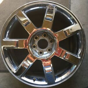 2009 2014 Cadillac Escalade 22x9 6x5 5 6x139 7 Aluminum Alloy Chrome 7 Spoke 5