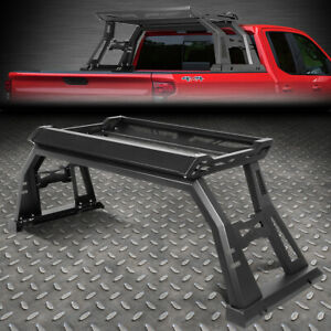 For 09 20 Ford F 150 Offroad Truck High Bed Roll Bar W Luggage Carrier Cargo Box