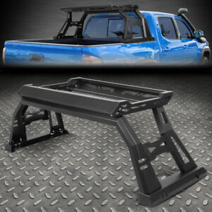 For 05 20 Toyota Tacoma Offroad Truck Bed Roll Bar W Luggage Carrying Cargo Box