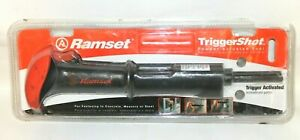 Ramset 40066 Trigger Activated 22 Caliber Powder Actuated Tool Triggershot New