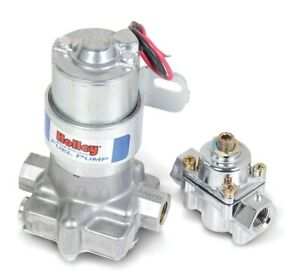 Holley Electric Fuel Pump With Regulator 12 802 1