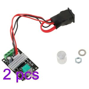 2pcs 6 12 24v 3a 80w Pwm Dc 1203bb Motor Speed Controller Motor Driver Switch