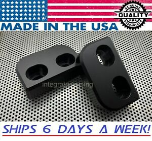 Mazda Miata Delrin Cnc Machined D Shaped Door Bushings 1990 2020 pair Mx5