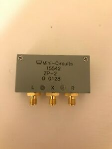 Mini Circuits Zp 2 Frequency Mixer 50 1000 Mhz Coaxial Sma