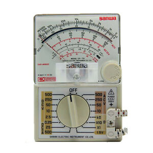 Sanwa New Cp7d Analog Multitesters slim Compact Amt Multimeter