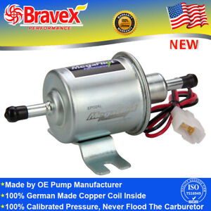 12v Universal Inline Electric Fuel Pump 2 5 4 Psi Gas Diesel Low Pressure