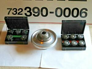 Jacobs Speed Collet Chuck Lo Spindle W collet Set Fits Colchester Leblond