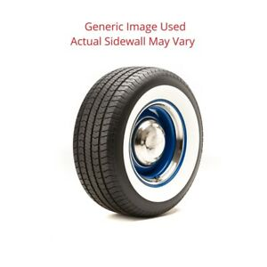 215 70r15 Streetsteel Milestar Tire With 2 75 White Wall Modified Sidewall 1