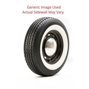 225 75r15 Load D Un203 Mastertack Tire With 2 75 White Wall Modified Sidewall
