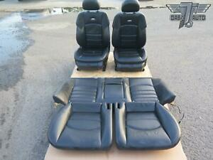06 11 Mercedes W219 Cls Front Rear Amg Sport Leather Seat Set Oem
