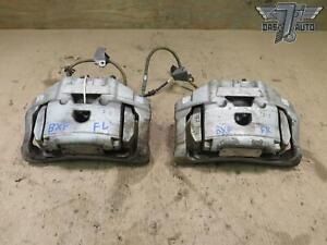 09 15 Jaguar Xf X250 Supercharged Set Of 2 Front Left Right Brake Caliper Oem