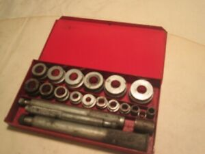 Snap On Tools 20 Piece Bushing Driver Set With Metal Case