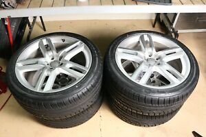 Audi A6 19 Wheels 4 With Brand New Tires Free Shipping Extra Clean