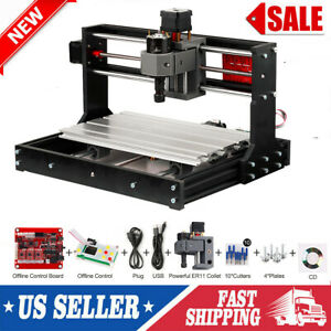 Cnc 3018 Pro Diy Router Mini Engraving Machine Kit Grbl Offline Control V6p3