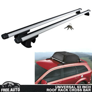 Universal Roof Rack Cross Bar Luggage Carrier Aluminum 135cm 53 Adjustable