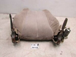 1999 2001 Toyota Solara Left Driver Front Seat Back Cushion Motor Assembly Cloth