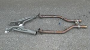 1999 2004 Ford Mustang Cobra Mach 1 Jba Headers Off Road Mid Pipe 4 6 4v