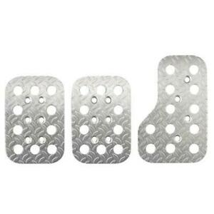 Sparco Pedal Set Race 03779an Silver Fits Universal 0 0 Non Application Sp