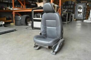 2009 Volvo S40 Left Driver Front Seat Power Black Leather