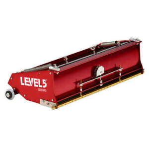 Drywall Flat Box 14 inch Professional Grade 7 year Warranty Level 5 Tools