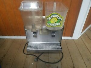 Crathco D23 2 Commercial Beverage Drink Dispenser Two Bowls For Parts Or Repair