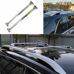 Fit For Jeep Cherokee 2014 2020 Silver Steel Car Top Roof Cargo Rack Cross Bars